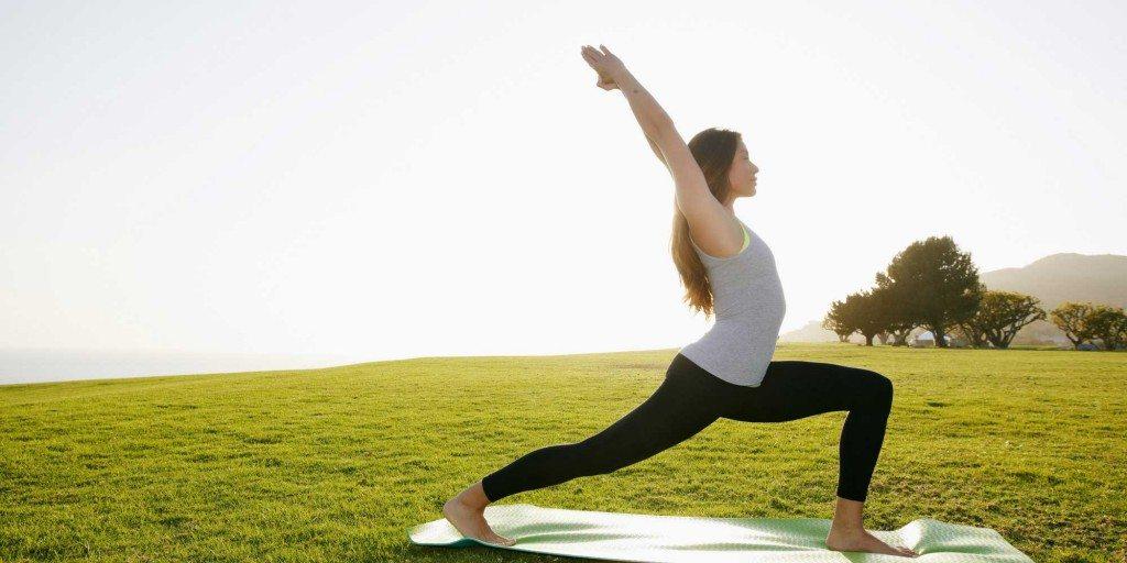 Pilates Retreat Yoga Warrior Pose