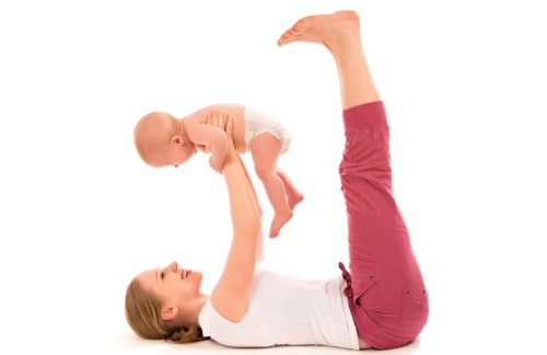 Mother and Baby Fitness Class
